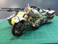 メロウリンクの軍用バイク(製作中)
