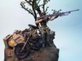 メロウリンクと軍用バイク