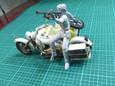 メロウリンクと軍用バイク(製作中)